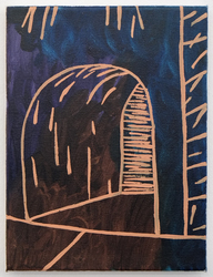 David Schroeter David Schroeter Oil and acrylic ink on canvas