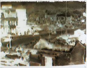 D A V I D  H A N N A H demo cities inkjet, ink, on plastic