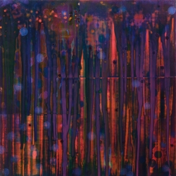Dawn Tappen Two by Series Acrylic on Panel