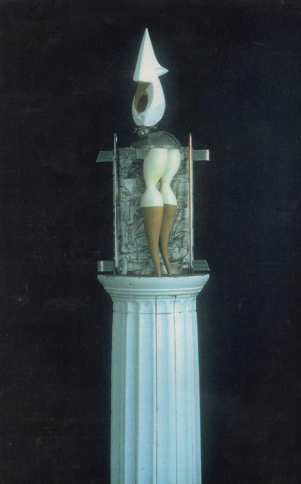 Archive 1975-92  Martian Caryatid Series #4