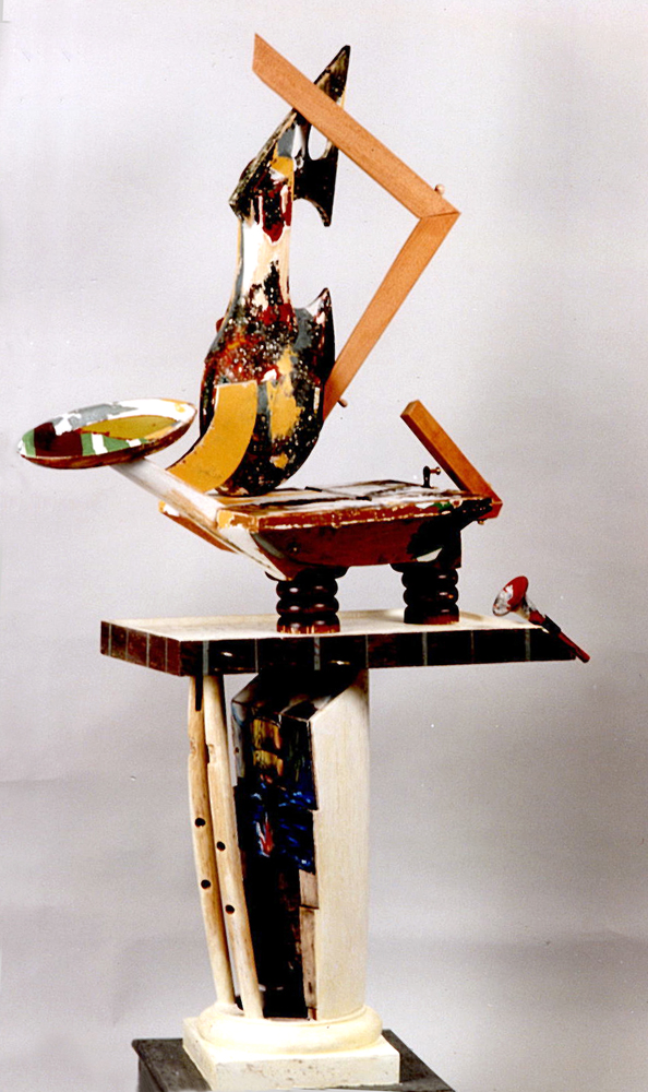Vessel Series 1993-1994 (images) Vessel Assemblage #4