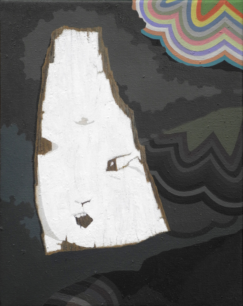 Shift Paintings 2013-15 (images) I Saw St Lucy Yi Zhenmei's Face on a Piece of Wood in Brooklyn