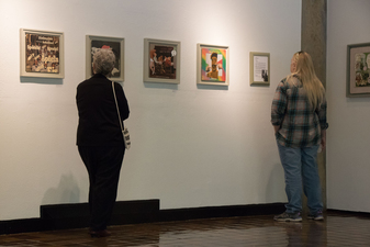 D. Dominick Lombardi - Fine Artist - Writer - Curator Opening Reception of Saints, Sinners and the Collective Unconscious @ UMASS/Amherst (images)