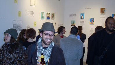 D. Dominick Lombardi - Fine Artist - Writer - Curator The Post Apocalyptic Tattoo: A Ten Year Survey, Curated by Carol Kino, Blue Star Contemporary Art Center, San Antonio, TX, Opening and Installation Views (2008)
