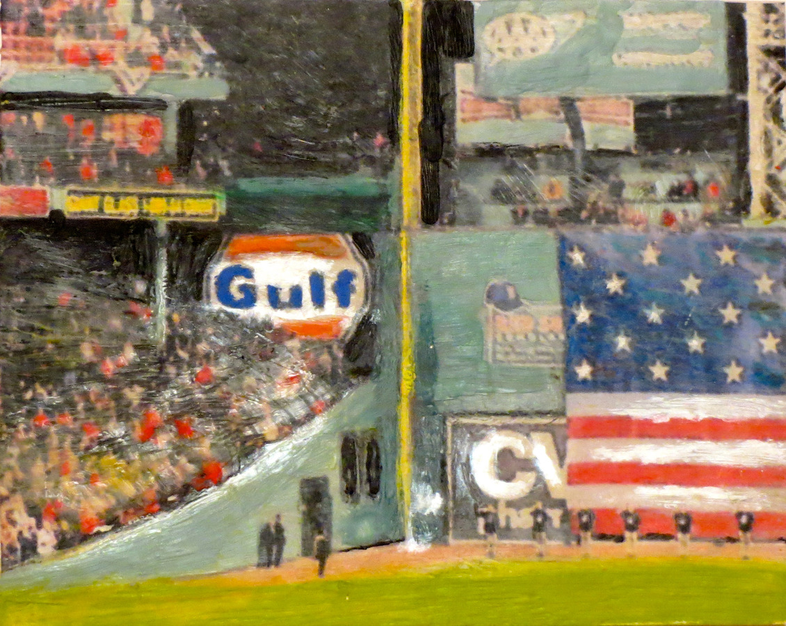 Fenway Park Art Gallery Left Field Gulf