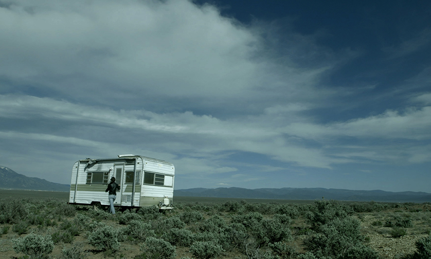 LAB WORK / THE STUDIO Naima Trailer. Taos, New Mexico.