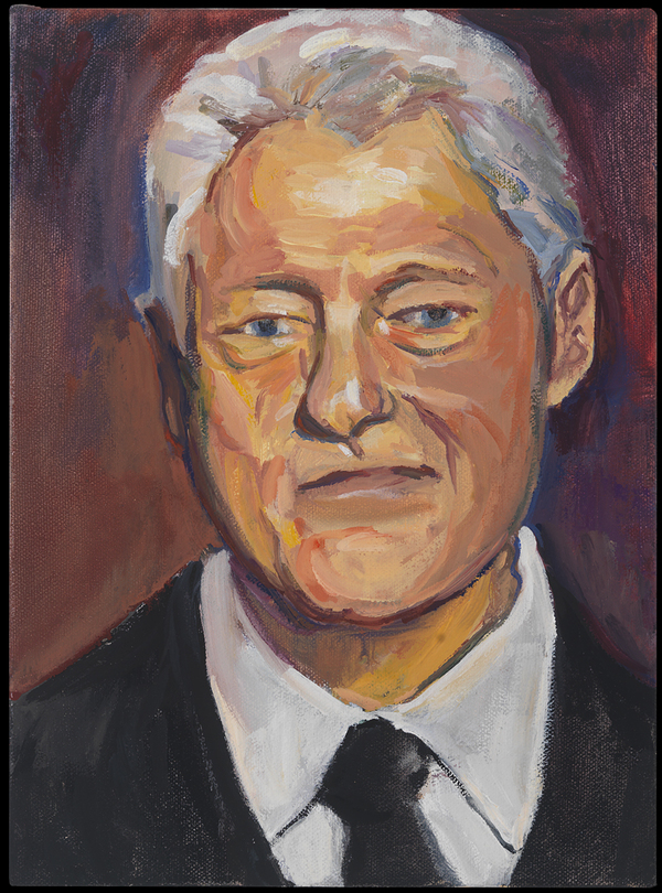 Headshots Bill Clinton