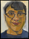 Headshots oil on canvas