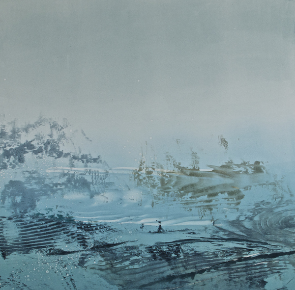 DEBORAH WEISS NEW TERRAIN monotype