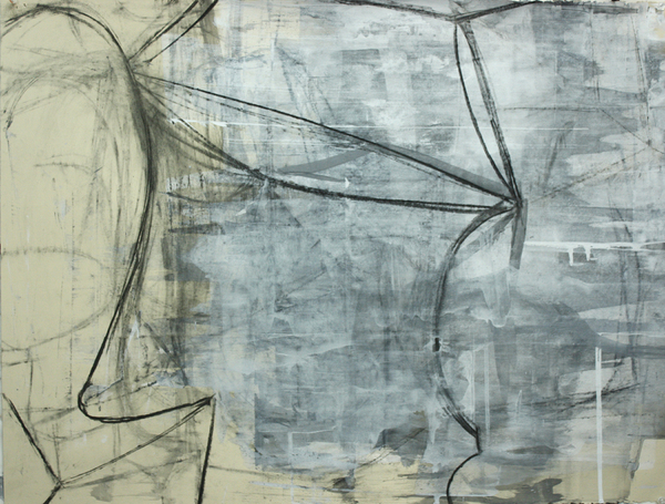deborah dancy Work on Paper  charcoal, gesso on paper