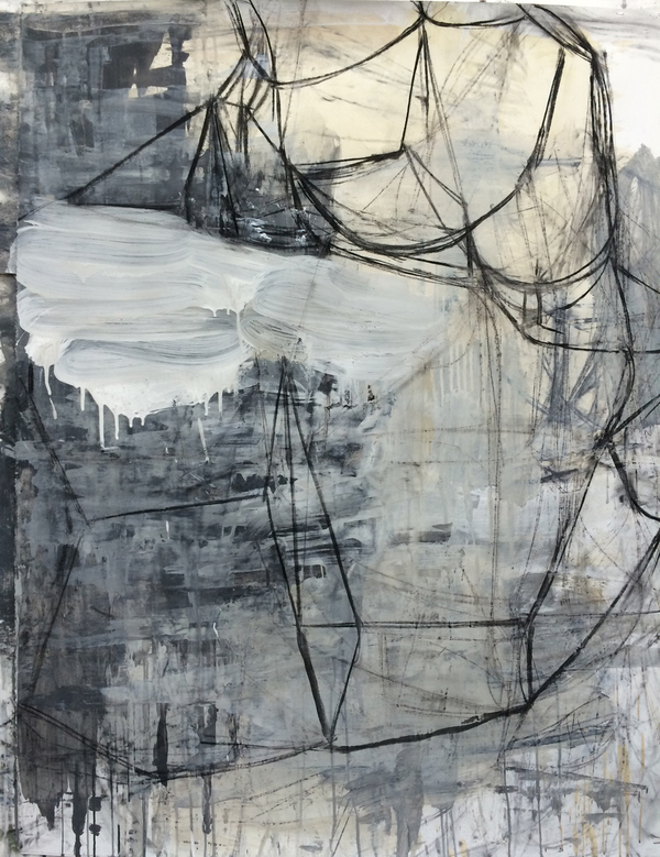 deborah dancy Work on Paper  Charcoal, acrylic on paper