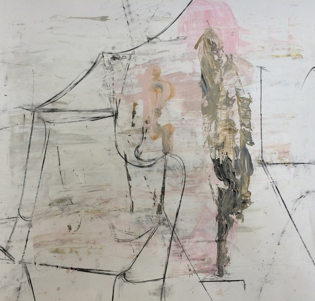 Work on Paper  Pink 15