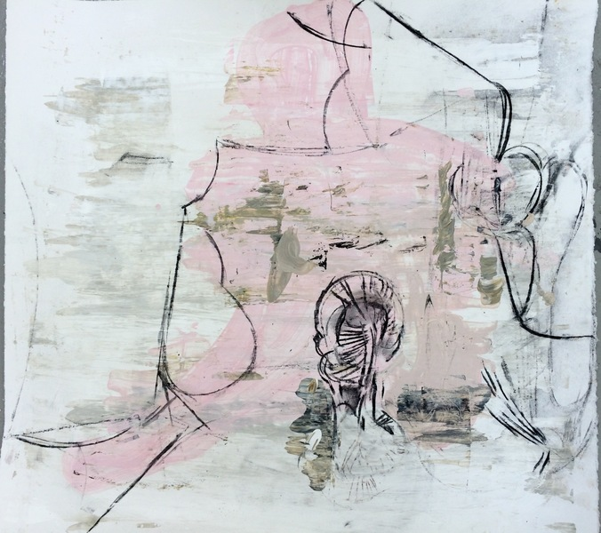 Work on Paper  Pink 11