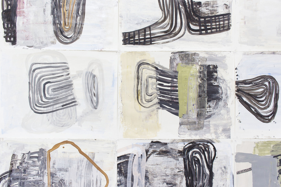 Works on Paper  Truth or Consequences (detail)