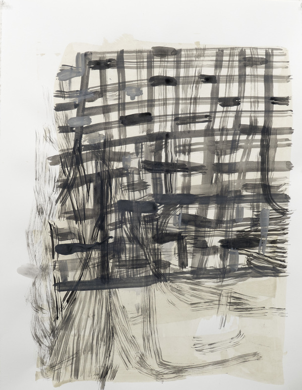 Works on Paper  Lines of Winter 3