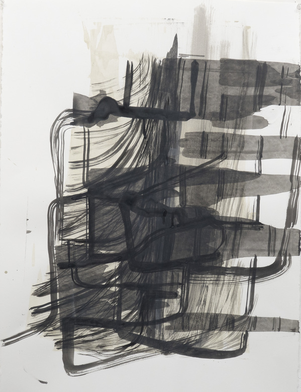 Works on Paper  Lines of Winter 6
