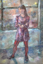 Deborah Sherman Portraits and Figures Acrylic on linen