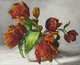 Denise Mickilowski New works oil on canvas