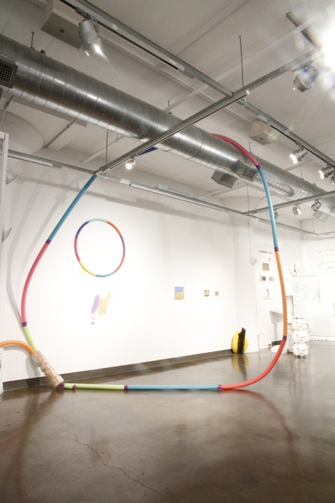 Split Ends (MFA thesis show) How do we hula hoop now?