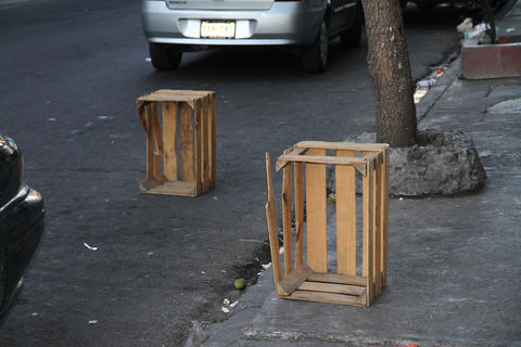 Street Interventions/Ongoing Box Arrangement