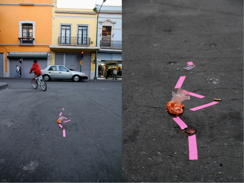 Street Interventions/Ongoing Pink & Chili
