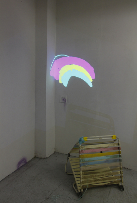 Contained (SVA studios) Indoor rainbow