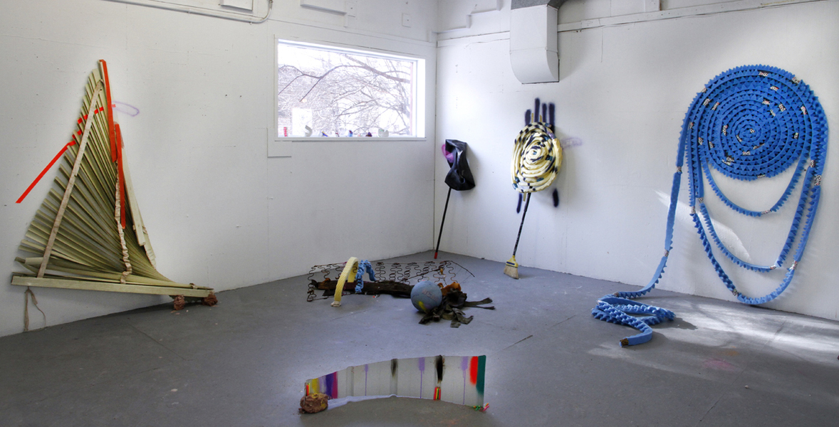 Roll On  Roll On (Installation View)