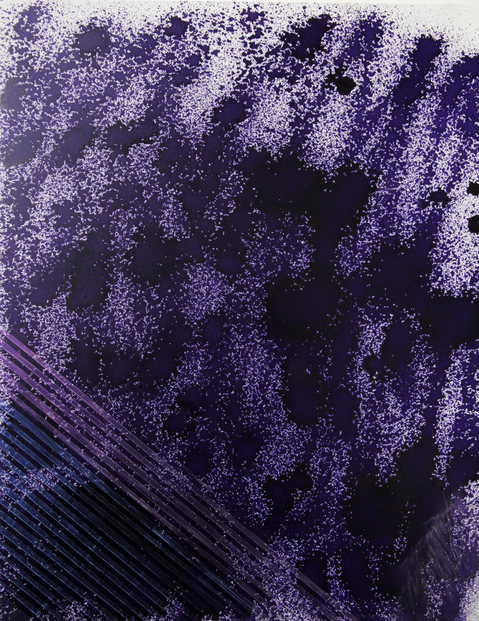 Paintings Grated purple