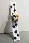Elizabeth Foundation for the Arts Plexi-glass, clay, spray paint, synthetic fiber