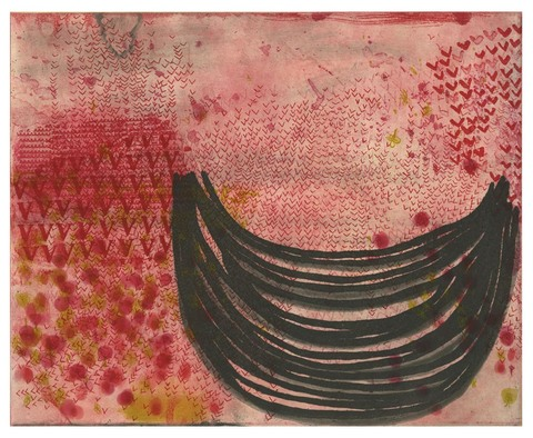 DIANA MARIE BEHL  What Fire Intaglio