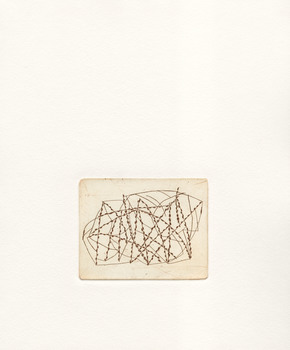 In Progress: An Alphabet of Maps Line Etching