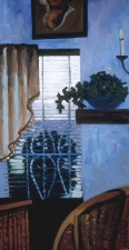 Diana Jensen Seasons oil on canvas