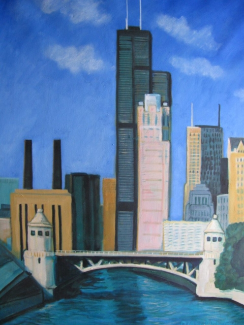 Diane Donohue Cityscapes