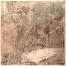 Diane Gabriel Prints Collagraph, found objects, Monotype