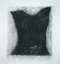 Diane Gabriel Drawings Compressed charcoal