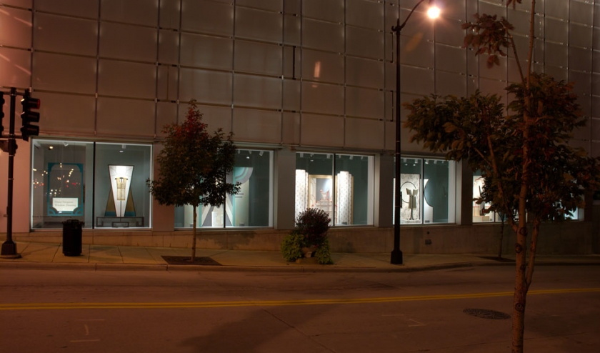 Diane Simpson  Racine Art Museum, Racine, Wisconsin,  <i>Window Dressing</i>, 2007-2008