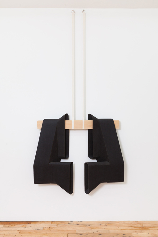 Diane Simpson JTT, New York, <i>Diane Simpson</i>, 2013 industrial fiber, poplar, cotton webbing