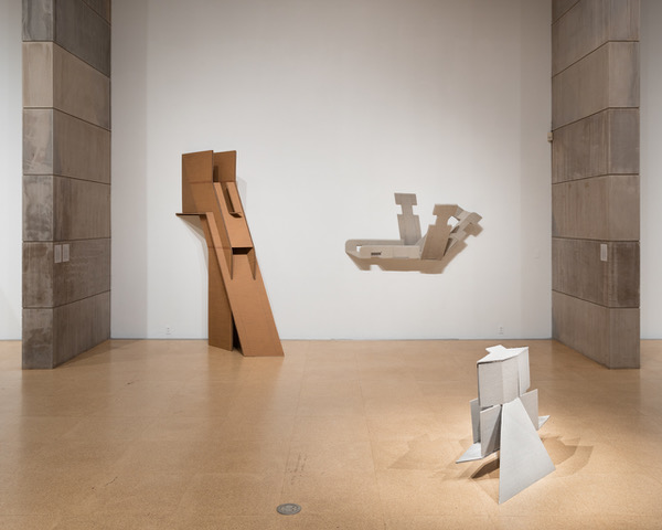 Diane Simpson Zilkha Gallery, Wesleyan University, Middletown, CT, <i>Diane Simpson Cardboard-Plus, 1978-1980,</i> 2020