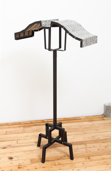 Diane Simpson JTT, New York, <i>Diane Simpson</i>, 2013 painted aluminum, linoleum, rivets