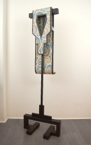 Diane Simpson Bibs, Vests, Collars, Tunic   (2006-2008) foamboard, fabric, wood