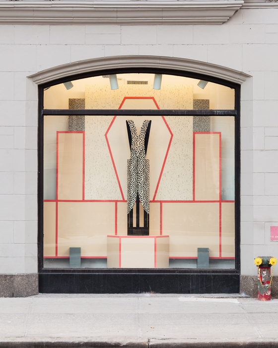 Diane Simpson Broadway Windows, NYU, New York, <i>Window Dressing,</i> 2014