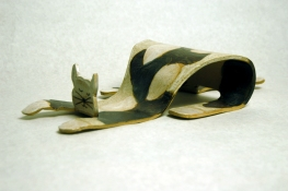 Diane Hardy Waller Sculpture and Art Clay.   brown clay