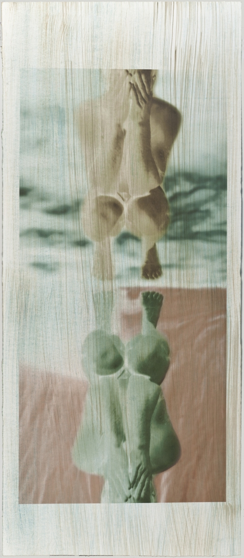 Creatura Botanica: Human and Plant Forms Conjoined Ultrachrome photo print on 100% cotton rag