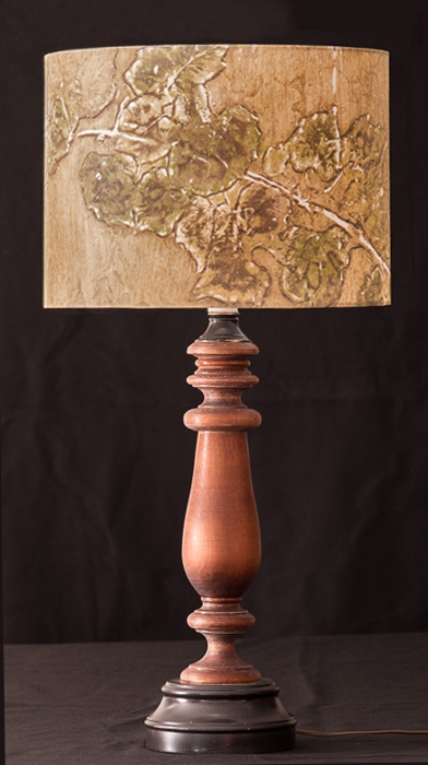 Table &  Floor Lamps Grapevine (earth tones)