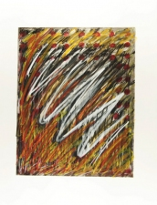 Donna Moran Drawings 2011/12 oil stick on paper