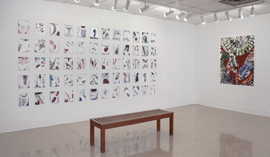 Donna Moran Visceglia Gallery Caldwell University February-March 2015 Mixed