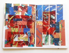 Donna Moran A Hurricane Named Sandy-The Sketchbook Project- Fall 2012 mixed