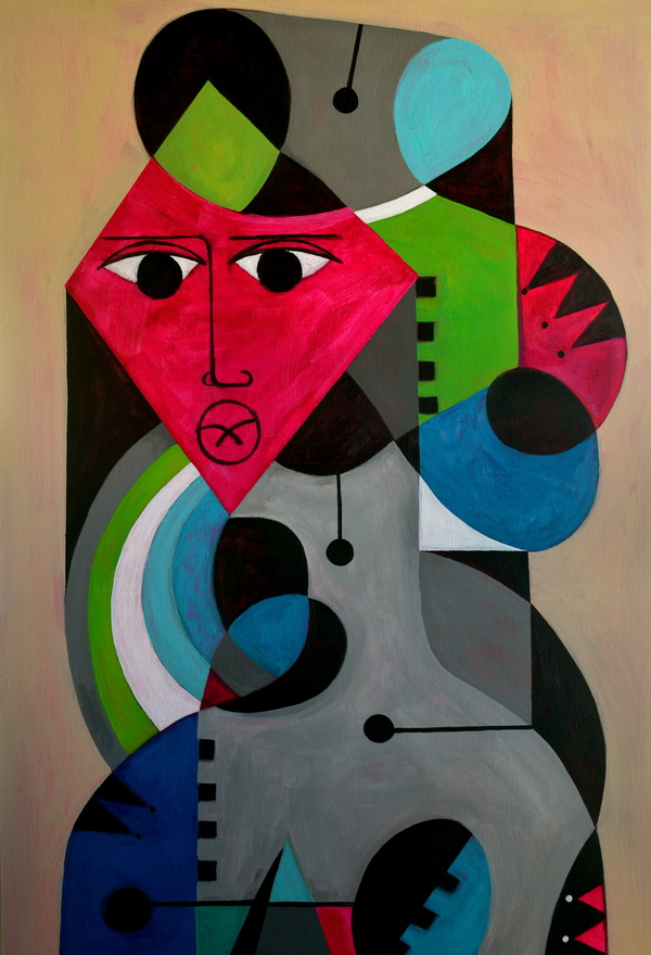Domingo Carrasco Recent Works acrylic on canvas