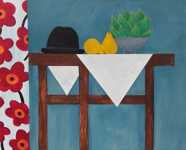 Domingo Carrasco Objects acrylic on canvas
