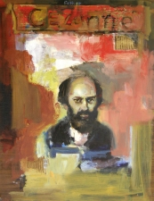 Don Keene Portraits Oil and collage on masonite